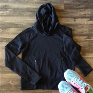 Black Hoodie with Front Pockets